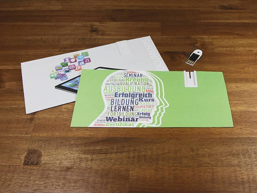 Paper USB Mailingcard