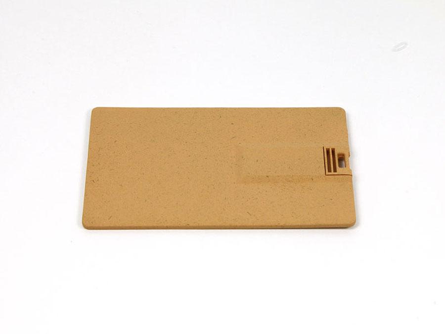 PLA USB-Stick Karte zum kompostieren