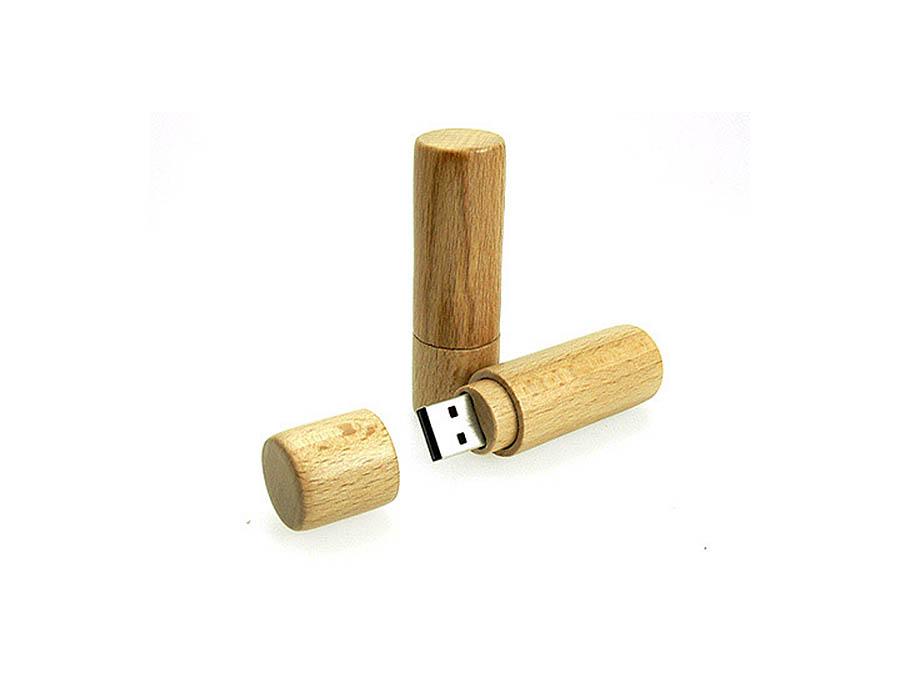 runder Röhren USB-Stick in der Form eines Lippenstift