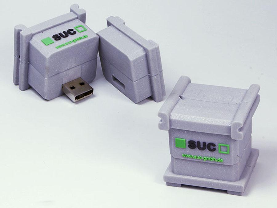 SUC GmbH Produkt USB-Stick in der form eines Kasten Würfels