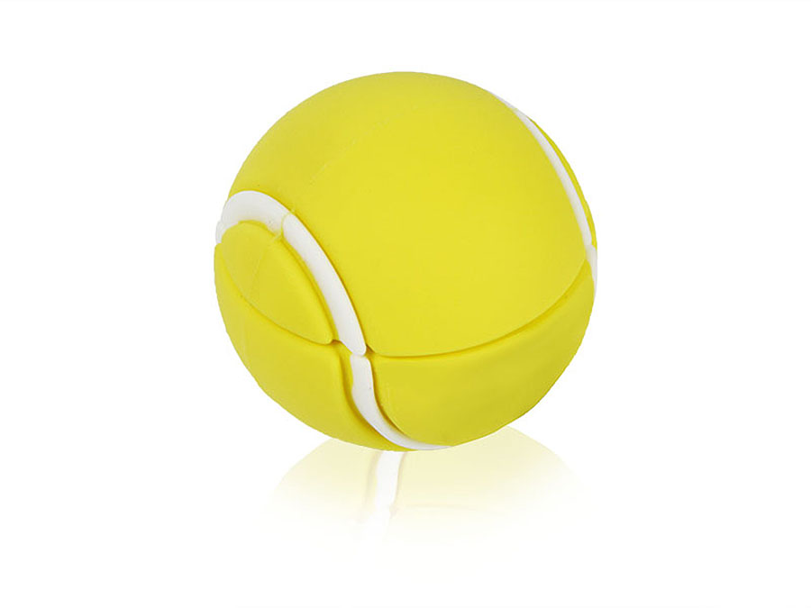 Tennis Ball Werbeartikel USB-Stick mit Logo