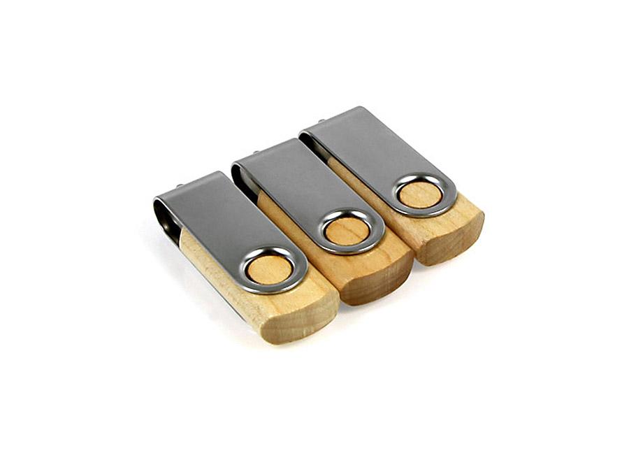 Twister Holz USB-Sticks zum drehen und bedrucken
