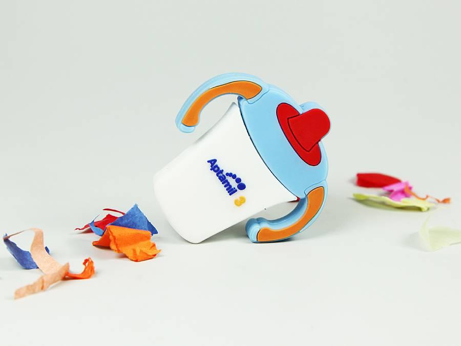 usb babyflasche babynahrung mit logo