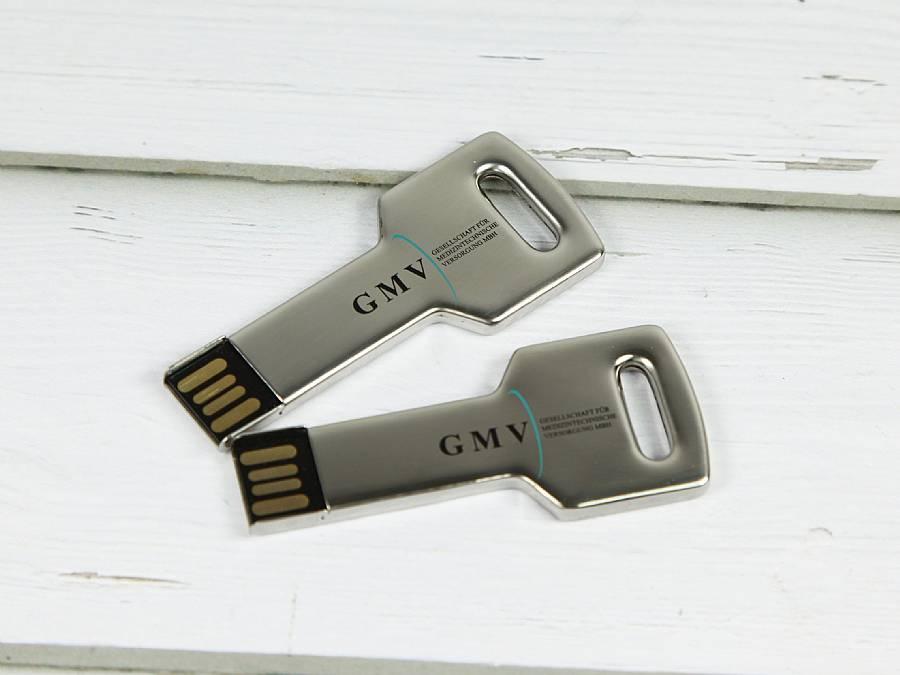 usb schlã¼ssel key01  mit  farbigem aufdruck