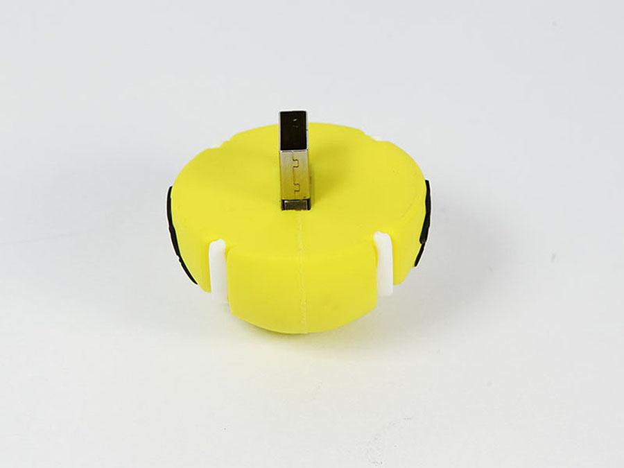 USB-Stick in der Form eines Tennisball