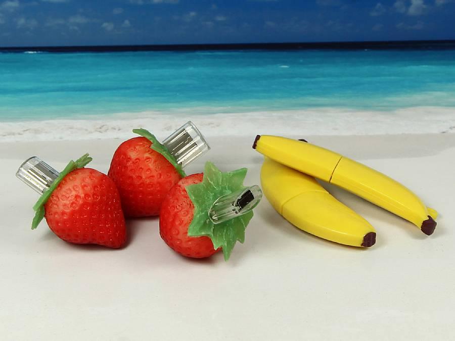 usb stick lebensmittel obst essen nahrung bio