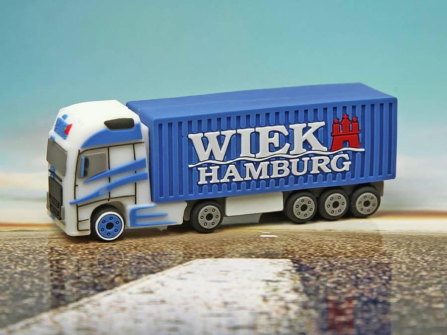 usb stick lkw logistik werbung transport strasse