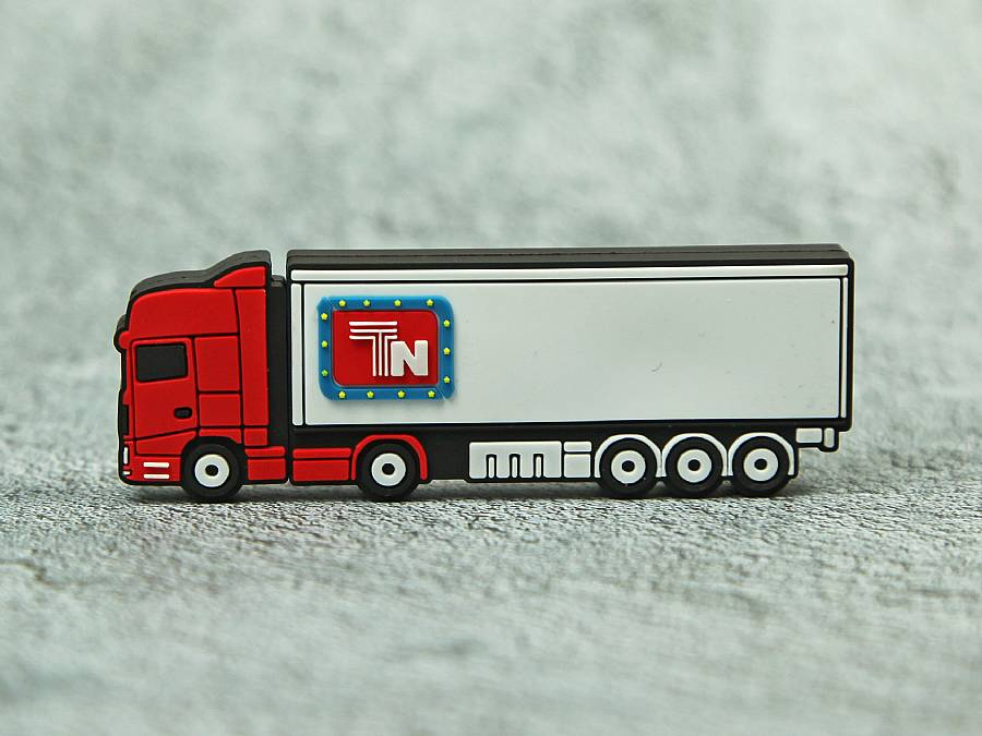 usb stick lkw verkehr strasse logistik trransport