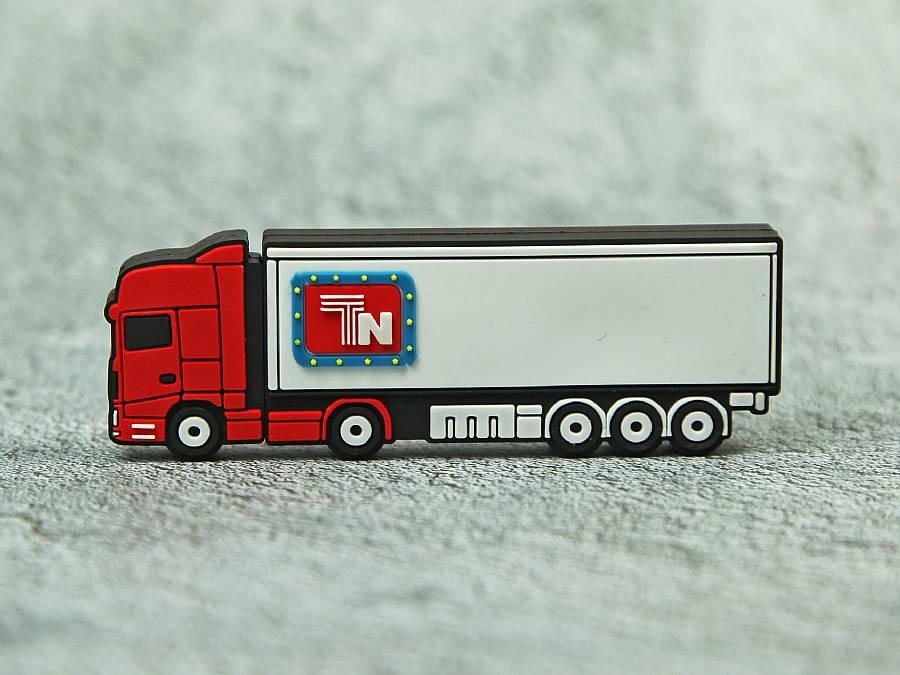 usb stick lkw verkehr strasse logistik trransport