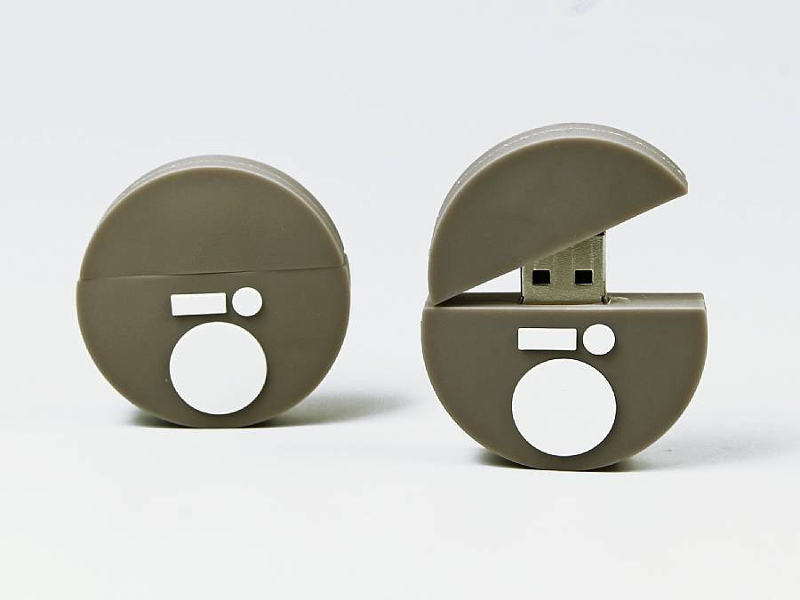 usb stick logo rund individuell firmenlogo kreativ