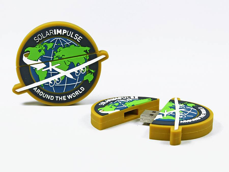 usb stick logo rund werbung individuell firmenlogo
