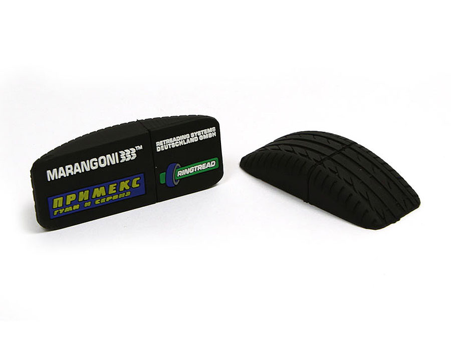 USB-Stick mit Marangoni Reifen und Logo