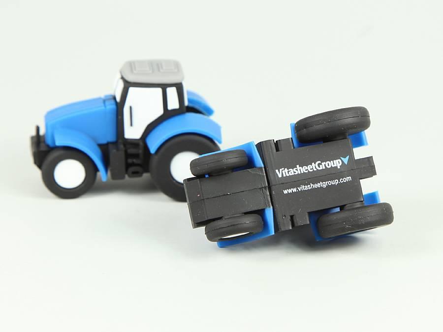usb stick traktor landwirtschaft logo