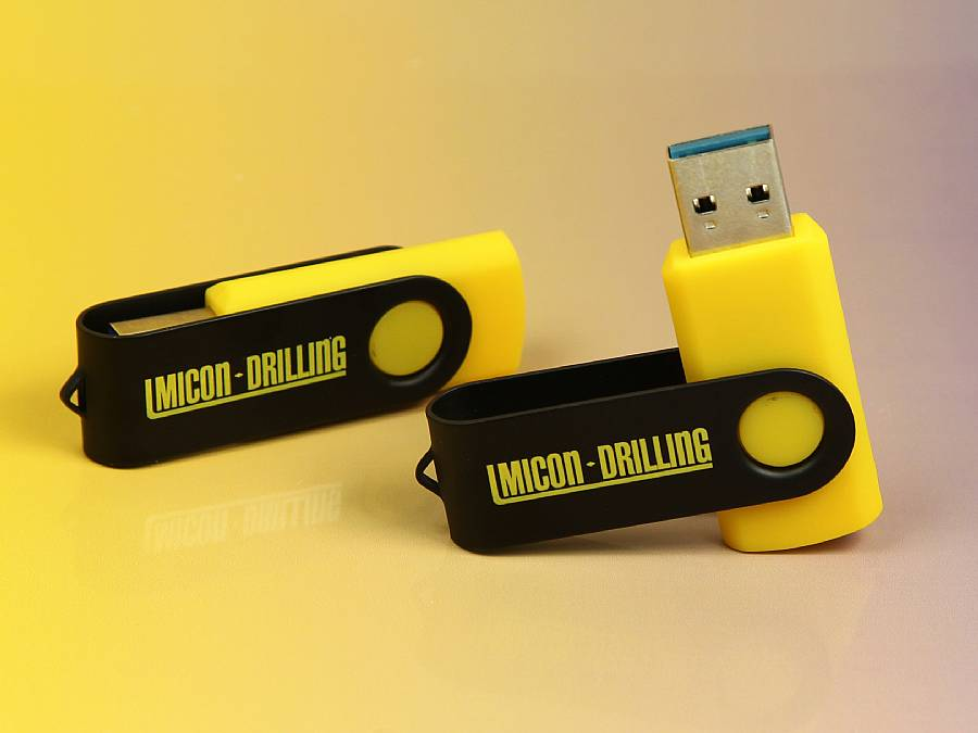 usb stick twister buegel metall speed logo werbung