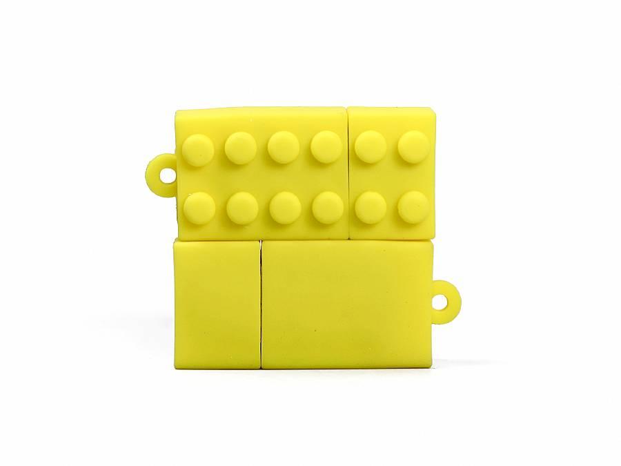 usb stick baustein brick lego mit logo bedrucken