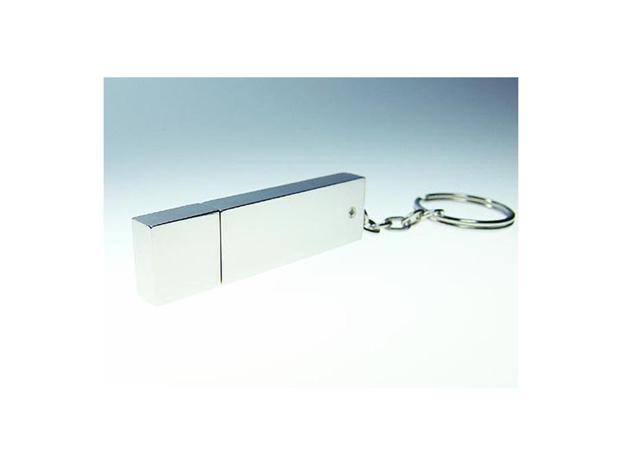 verspiegelter USB-Stick mit Schlüsselring