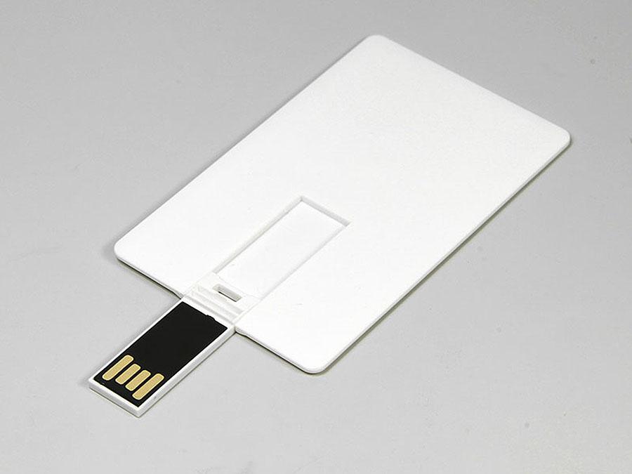 visitenkarten USB-Stick als Karte mit Druck