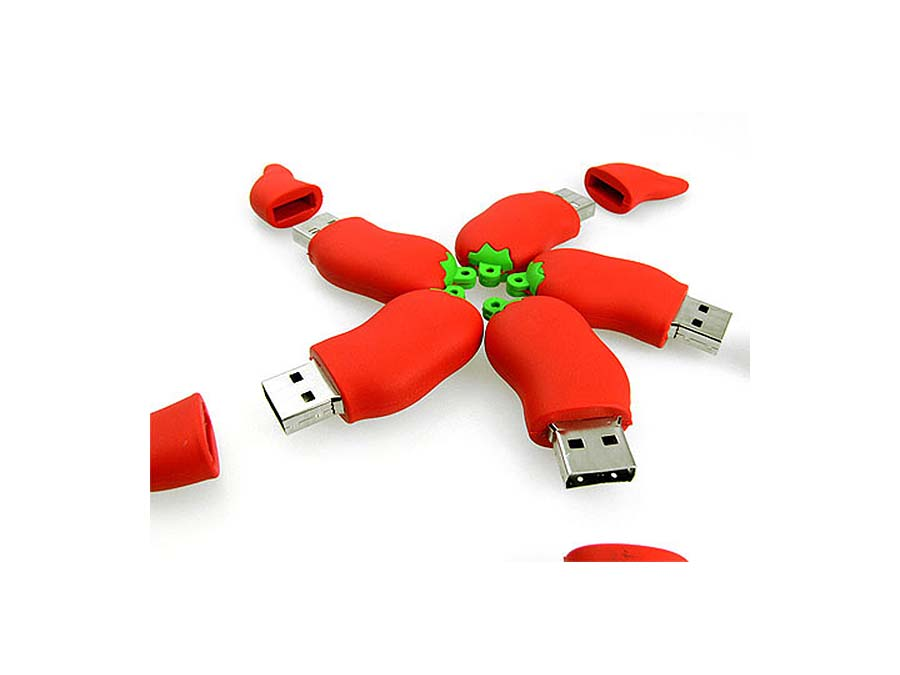 Werbeartikel Pepperoni Chili Pepper USB-Stick zum bedrucken