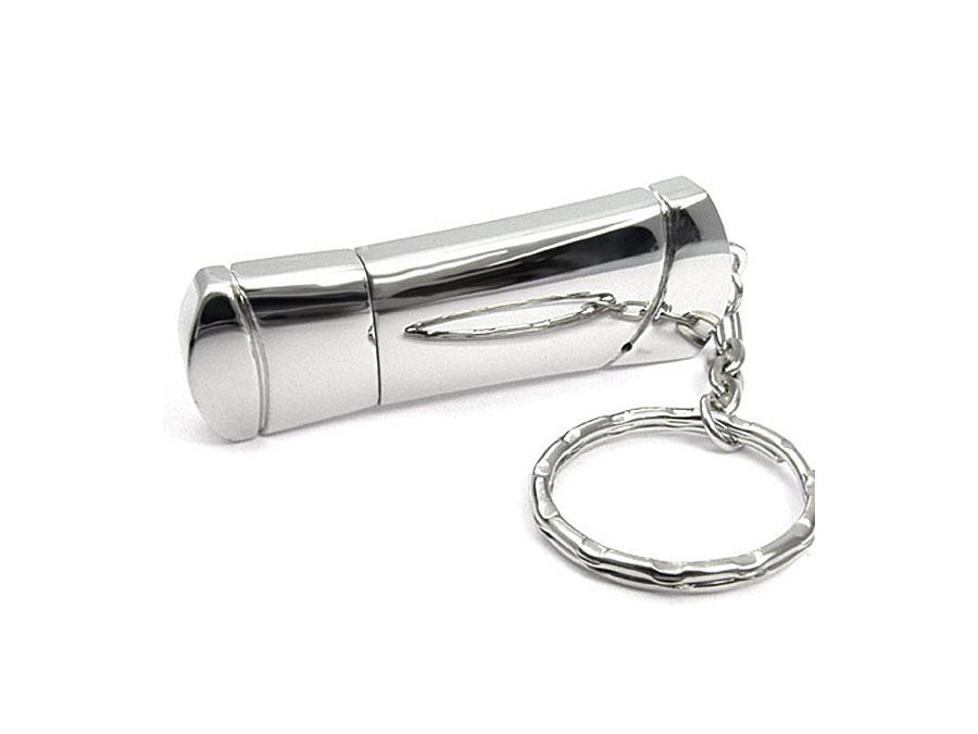 Werbeartikel USB-Stick mit glänzender Oberfläche aus Metall