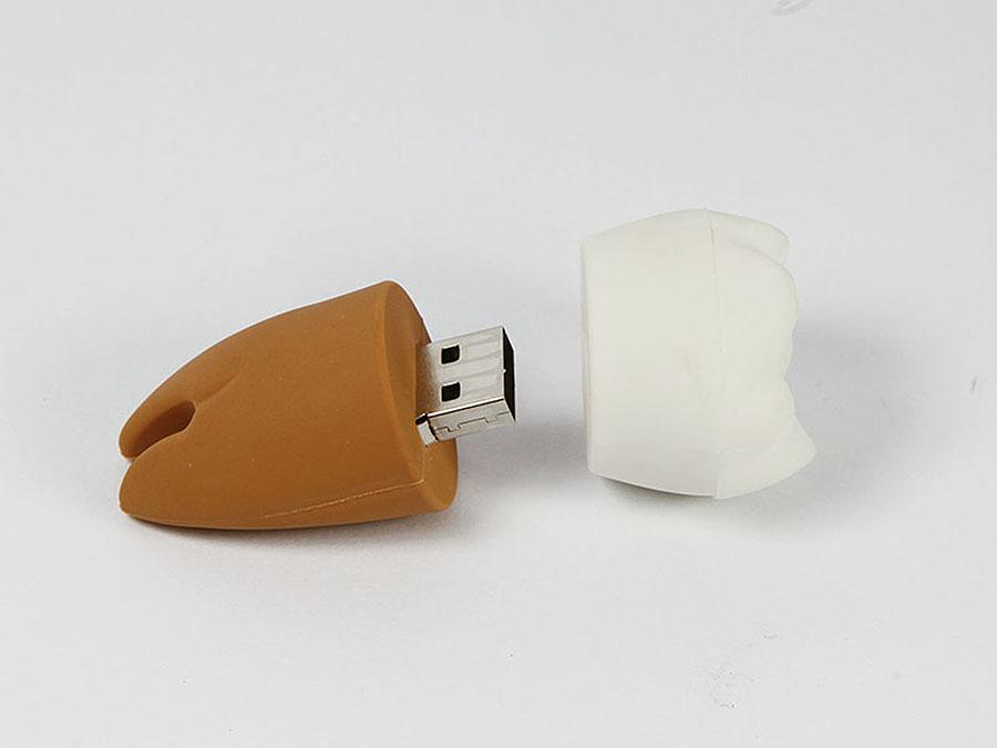 Werbeartikel Zahn USB-Stick mit Logo bedrucken