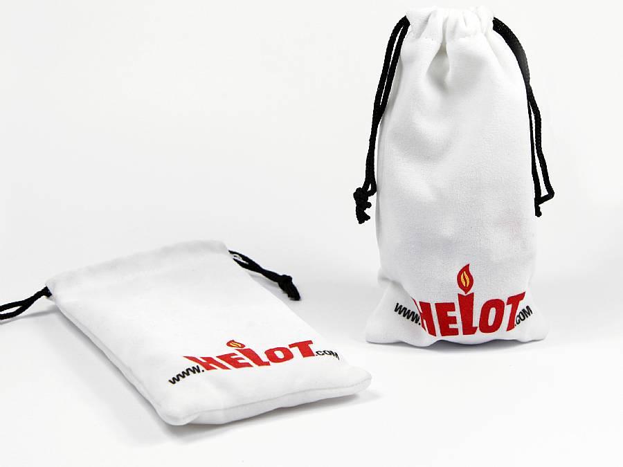 werbegeschenk textil säckchen beutel mit logo aufdruck