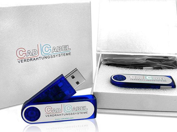 USB-Sticks Aluminium-Kunststoff-Mix in mehreren Farben