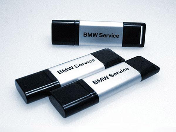 Aluminium und Kunststoff USB- Stick mit 1farbiger Bedruckung als Werbegeschenk