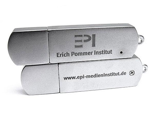 Exclusiver USB Stick sehr Edel mit Firmenlogo bedruckt