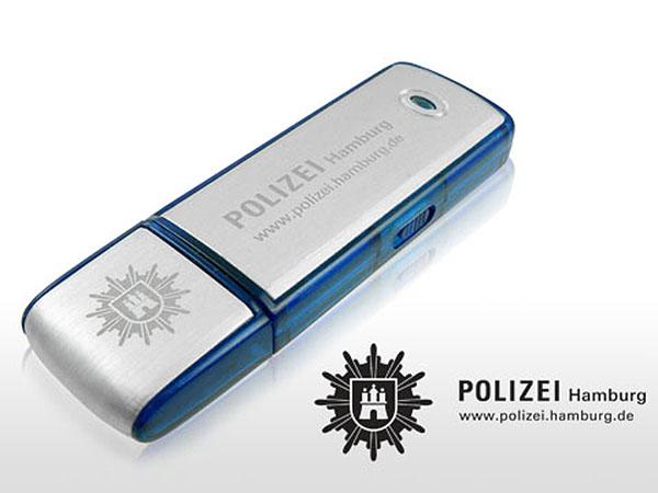 USB-Stick Polizei Hamburg