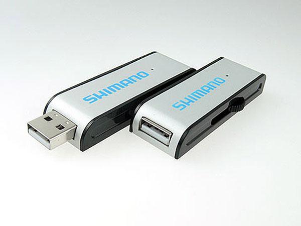 Aluminium USB-Stick mit farbigem Aufdruck