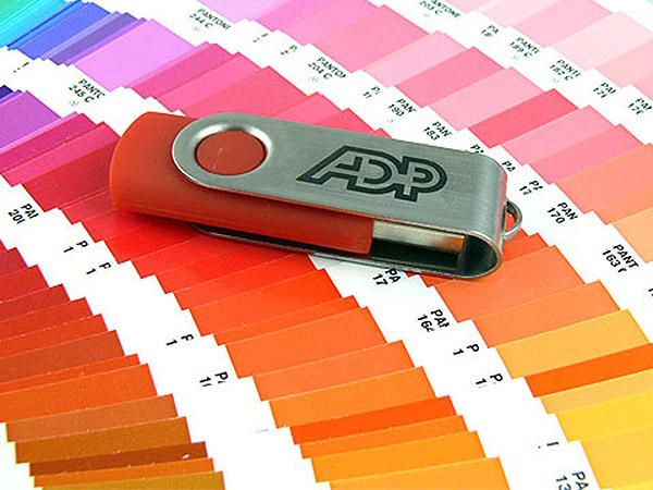 USB Stick in Sonderfarbe Pantonefarbe Logo