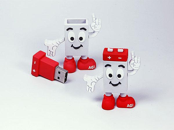 AGI Figur Maskottchen USB-Stick in Wunschform