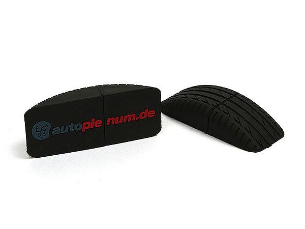 Autoplenum Reifen USB-Stick in individueller Form