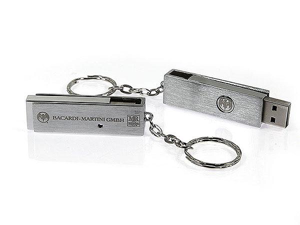 Massiver Metall USB-Stick mit Gravur