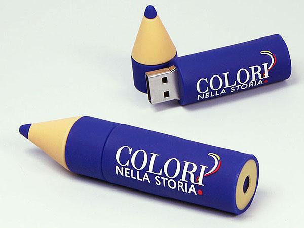Bleistift Stift USB-Stick mit Logo in Wunschform