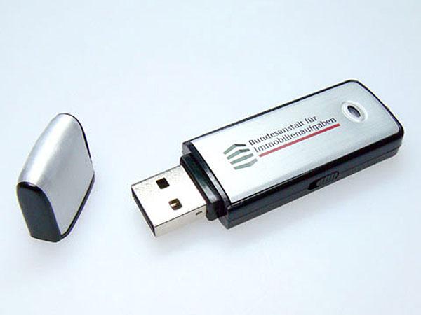 Bundesanstalt für Immobilienaufgaben Metall USB-Stick