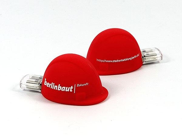 custom Berlin Baut Bauhelm USB-Stick mit Logo