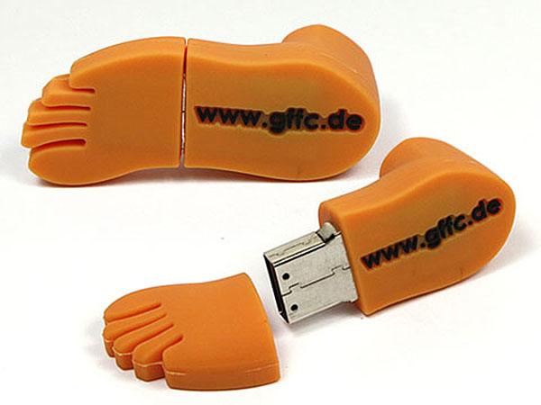 gffc Fuss USB-Stick mit Logo