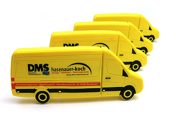 hasenauer koch gelber transporter sprinter usb stick