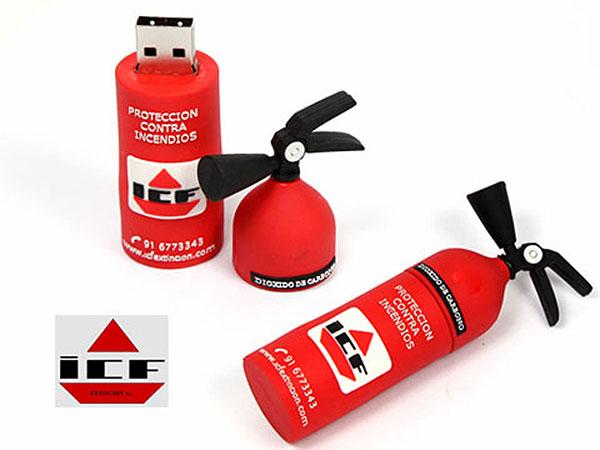 ICF Feuerlöscher USB-Stick