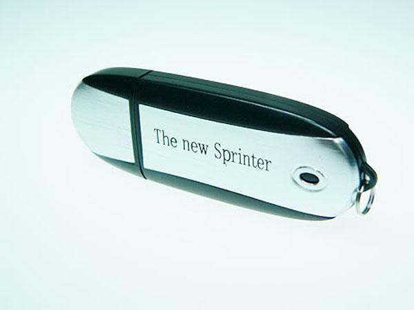 Mercedes Sprinter Werbeartikel USB-Stick mit einfabrigen Druck