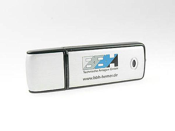 Metall USB-Stick BBH Hemer als Werbeartikel bedruckt