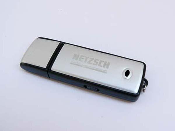 NETZSCH Werbeartikel USB-Stick mit graviertem Logo