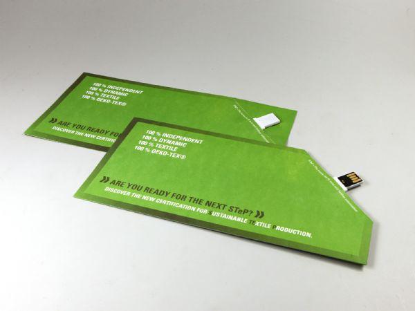 Paper USB Knickkante