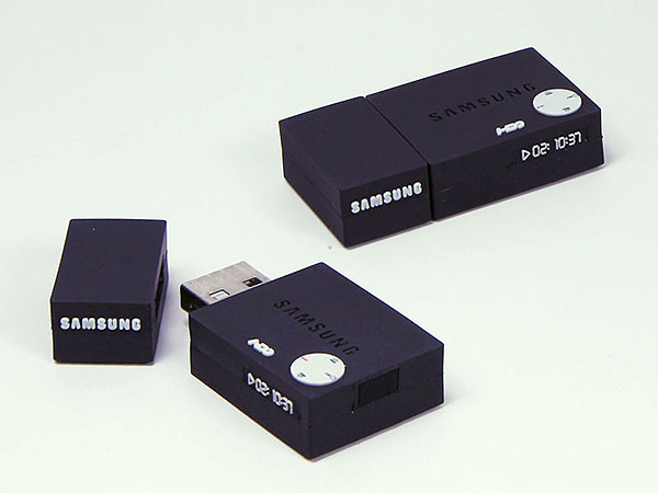 Samsung DVD Player USB-Stick mit Logo in Sonderform