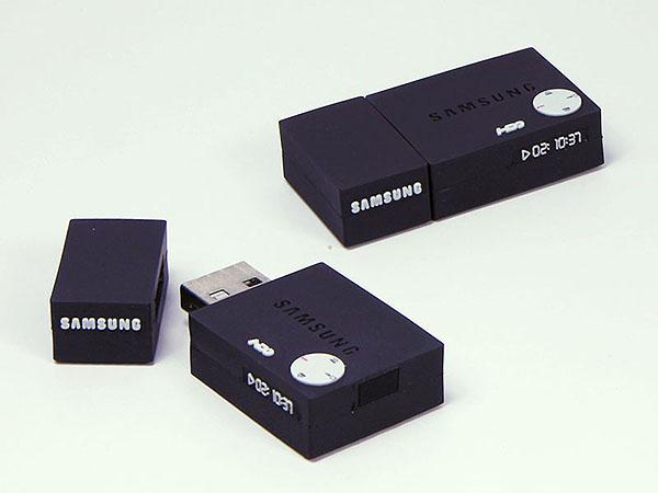 Samsung DVD Player USB-Stick mit Logo in Sonderform