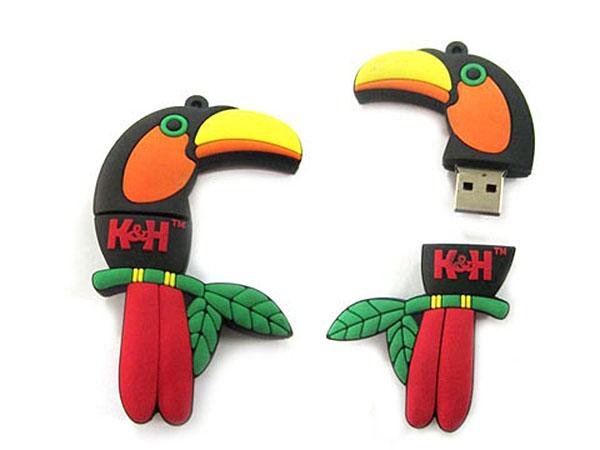 USB-Stick in der Form eines Vogels