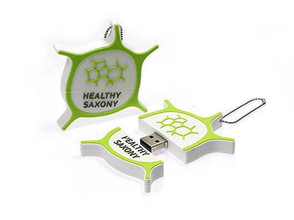 Healthy Saxony Logo USB-Stick
