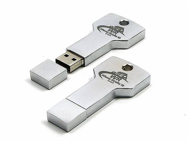 USB-Stick Schlüssel mit Aufdruck als Firmengeschenk