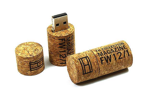 USB-Weinkorken mit Logoprint